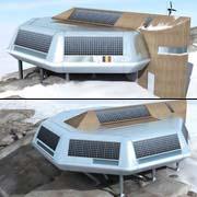 Бельгийская антарктическая станция по проекту IPF (иллюстрации IPF)