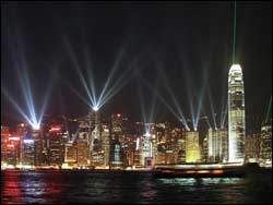Ночной Гонконг (фото с сайта china.marin.ru)