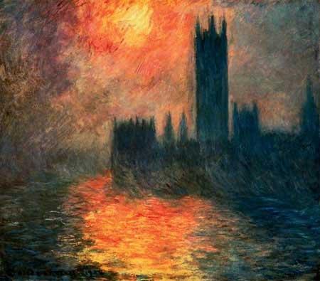 Лондонский смог (картина Клода Моне