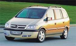 Минивэн Opel Zafira