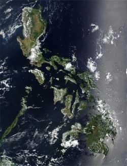 Филиппины (снимок NASA)