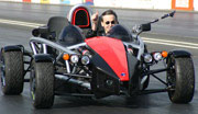 X1 в соревновании на автодроме обошёл Ferrari 360 Spyder и Porsche Carrera GT (фото с сайта wrightspeed.com)