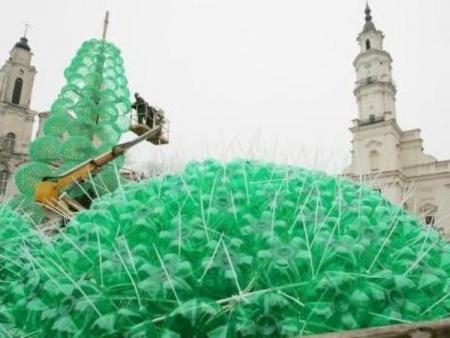 Украшения из пластиковых бутылок