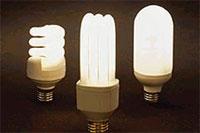 Энергосберигающие лампы (фото с сайта santa-monica.org)