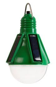 Лампа накаливания на солнечных батареях
