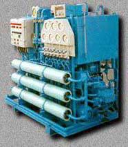 Установка для опреснения воды на элементах фирмы DU Pont (иллюстрация с сайта www.proletarsky.ru)