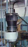 Зовнішній вигляд вихрового скруберу (фото з сайту www.itp.nsc.ru )