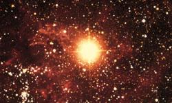 Ближайшая к Земле новая звезда sn1987a (фото с сайта www.homepage.smc.edu)