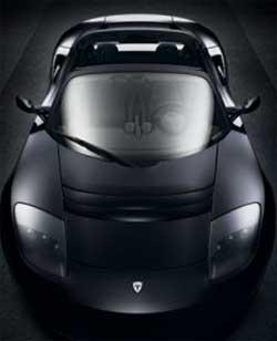 Электромобиль Tesla Roadster (изображение с сайта core77.com)