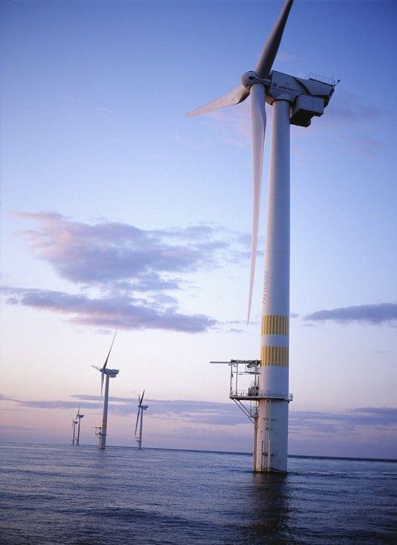 Ветряная ферма Южной Кореи